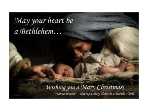 Have a Mary Christmas from Joanna Weaver